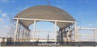 پروژه سالن ورزشی شهریار