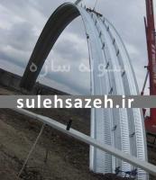 طراحی و ساخت سیلوهای ذخیره گندم استان گلستان
