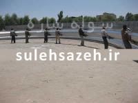 طراحی و ساخت سوله سالن ورزشی امانی استان کرمان