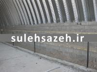 طراحی و ساخت سوله سالن ورزشی چند منظوره حجت آباد استان کرمان