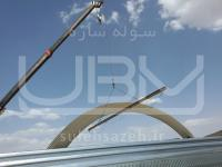 پنل های اصلی سوله UBM آماده حمل و نصب توسط جرثقیل