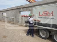 دستگاه تولید سوله UBM در محل پروژه