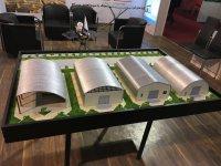 غرفه سوله سازه در چهارمین نمایشگاه بین المللی نما، سازه و تکنولوژی های نوین صنعت ساختمان
