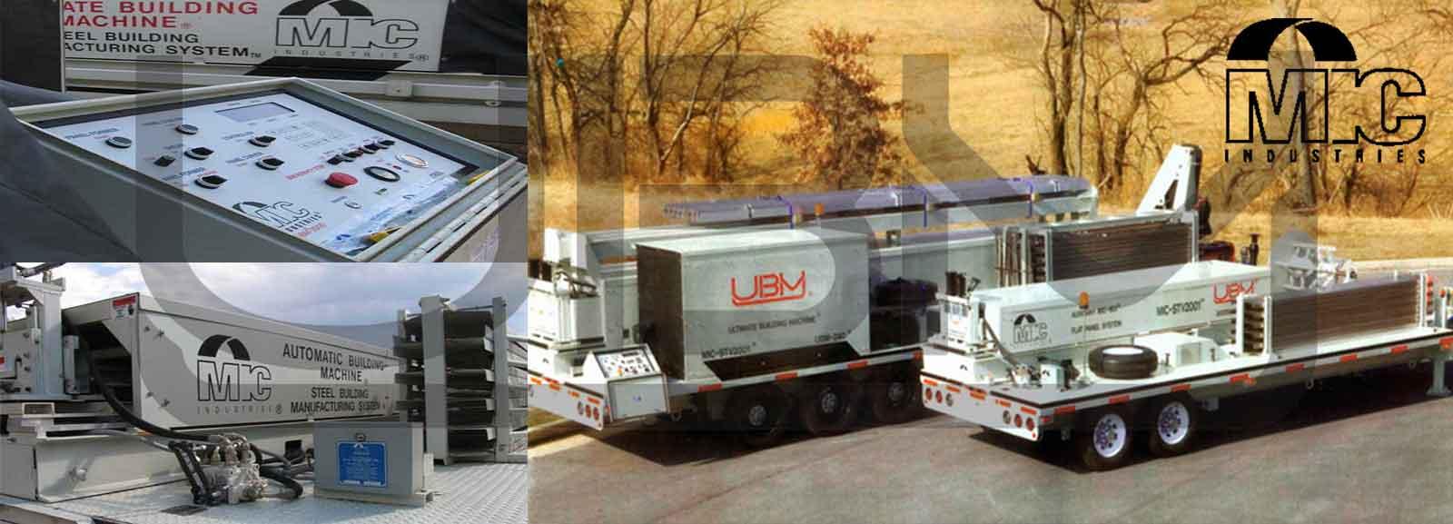 ماشین آلات UBM