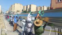 ساخت سوله سالن ورزشی چند منظوره پردیس فاز 2